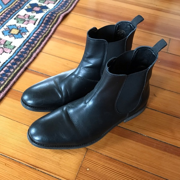 83581998d6 will s vegan shoes chelsea boot black. M 5c0749746a0bb760eb4b5c95